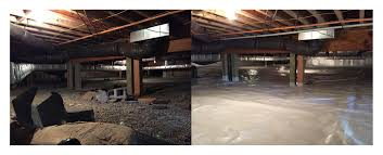 Dehumidifier Basement Crawl Space Encapsulation Value Dry Waterproofing