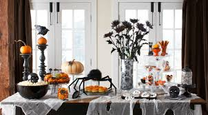 halloween monster window silhouettes decoration halloween black spider fireplace mantel scarf