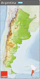physical map of argentina free physical map of argentina lighten
