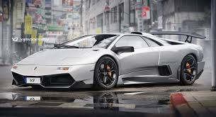 pictures of lamborghini diablo lamborghini diablo goes back to the future with a 21st century