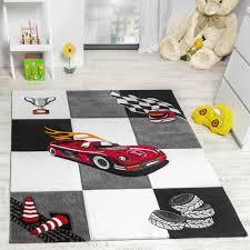 tapis chambre d enfants tapis chambre d enfant tapis de jeux voiture de course gris crème