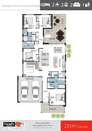 newport display 230sqm 4 bedroom house design grady homes