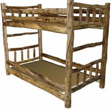 Log Bunk Bed Plans Bunk Beds Exclusive Bunk Beds Rustic Log Bunk Beds Bunk Bed