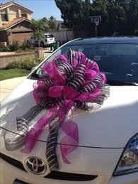 bows for cars presents my attempt and added twist to a diy paper bow for my