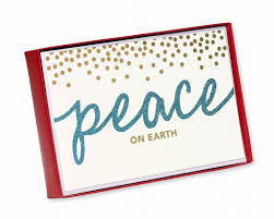 peace on earth boxed cards 14 count shop american greetings