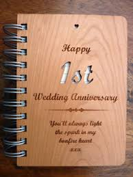 1st wedding anniversary gift 1st paper wedding anniversary gift personalised message