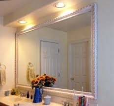 Framed Bathroom Mirror 12 Ideas Of Framed Bathroom Mirrors Interior Design Inspirations