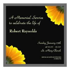 Funeral Service Announcement Wording In Loving Memory Invitations U0026 Announcements Zazzle