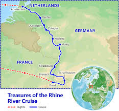 treasures of the rhine river cruise vacation packages by
