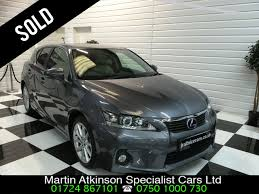 lexus ct200h bhp second hand lexus ct 200h 1 8 se l 5dr cvt auto for sale in