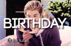 Justin Bieber Happy Birthday Meme - happy birthday justin gifs get the best gif on giphy