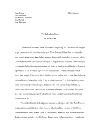 cover letter manuscript submission example how to format your fiction submission u2013 mary c moore