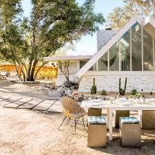 A Frame Home How To Design A Modern Desert A Frame House Sunset