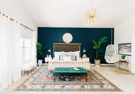 decorist designs a bohemian bedroom for alexandra evjen rue