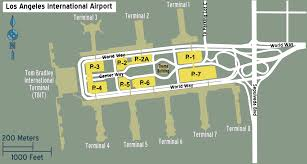 Los Angeles Airport Terminal Map by Lax Airport Terminal Map Png