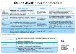 chambre syndicale nationale de l eau de javel l contagieux en hospitalisation centre hospitalier