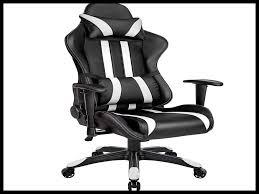 chaise bureau gaming bureau noir et blanc ikea gallery of bureau blanc canada