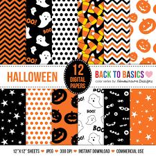 cute halloween pattern background cute halloween digital paper sale halloween scrapbook paper for