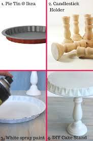 Homemade Europe Diy Design Genius Diy Cake Stand Tutorial Homemade Cake Stands Tall Cakes And