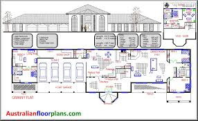 large home floor plans australian colonial home designs floor plans home plan