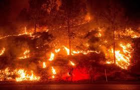 California Wildfire Locations 2015 by Tom Clark Smoke Alarm