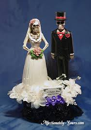 halloween wedding cake toppers affectionately yours u0026 artstyle