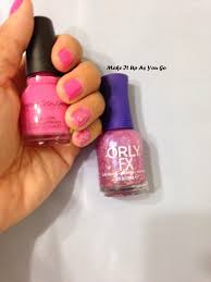 make it up as you go nail polish change sinful colors pink
