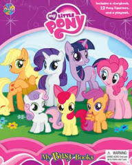 Comic Books Barnes And Noble My Little Pony My Busy Books Series By Phidal Publishing Inc