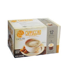 Cappuccino Cups H U2011e U2011b Cafe Ole Caramel Cappuccino Single Serve Coffee Cups U2011 Shop