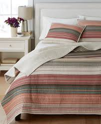 Martha Stewart Duvet Covers Martha Stewart Collection 100 Cotton Desert Rock Reversible Quilt