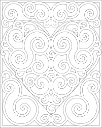 pages to color for adults don u0027t eat the paste swirly heart to color mandala pinterest