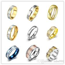 steel finger rings images Hot 316l stainless steel finger ring size 6 10 fashion jewelry jpg