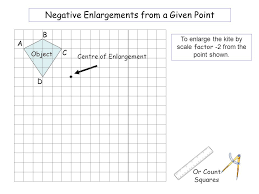 x2 enlargements from a given point a b d c a b d c ppt download