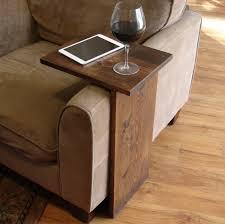 sofa chair arm rest tray table stand von keodecor auf etsy ideas