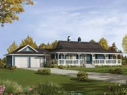ranch style house plans with wrap around porch caldean country ranch home plan 062d 0041 house plans and more