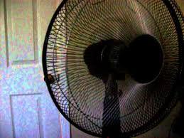 Pedestal Fan With Remote Control Sylvania Remote Controlled Pedestal Fan Youtube