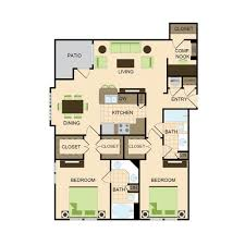 Luxury Apartment Floor Plan by Floor Plans Luxury Apartment Living Near Liva Nova