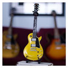 joe bonamassa signature goldtop mini guitar replica collectible