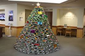 library christmastime u003d a book tree booking it with susanne