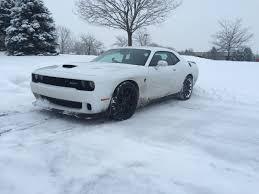 lexus ls in snow driving a hellcat in the winter srt hellcat forum