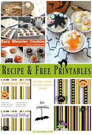 free printable halloween treat bag labels baking easy monster cookies and free halloween topper printables