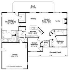 Modifying House Plans by One Story Ranch House Plans Country House Plan First Floor