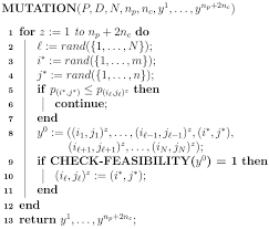 a comparison between evolutionary metaheuristics and mathematical
