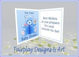 second marketplace fda best wishes baby shower card boy