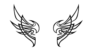 tribal wing revisited by nox dracoria on deviantart