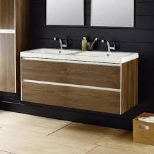 Hudson Reed Bathroom Furniture Hudson Reed Erin Textured Oak Basin Cabinet W1200 X