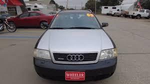 2001 audi quattro 2001 audi a6 awd 2 8 avant quattro 4dr wagon in blair ne wheeler