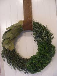 herb wreath the complete guide to imperfect homemaking diy herb wreath