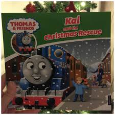 thomas friends personalised christmas book ickle pickles