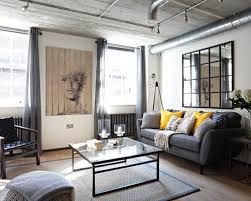 industrial living room furniture interior design
